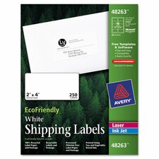 Ecofriendly Labels, 250/Pack