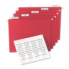Printable Inserts for Hanging File Folders (100/Pack)