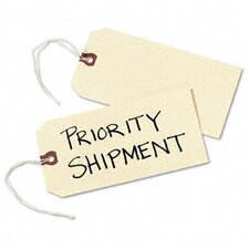 Paper/Twine Shipping Tags, 6 1/4 X 3 1/8 (1,000/Box