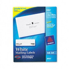 Easy Peel Inkjet Address Labels (1400/Box)