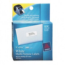 Address Labels, 1 Roll/Pack