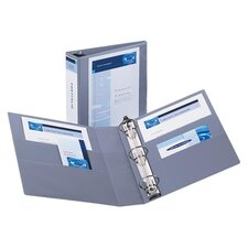 "3-Ring View Binder, 2"" Capacity, 11""x8-1/2"", Various Colors"