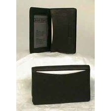 Men or Womens Business Card Case Wallet in Black