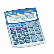 LS-100TS Compact Desktop Calculator, 10-Digit LCD