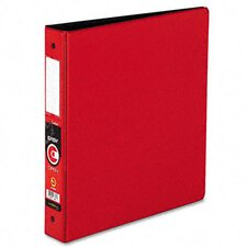 "Easyopen Locking Round Ring Binder, 11 X 8-1/2, 1.5"" Capacity"