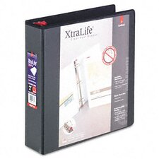 "Clearvue Xtralife Slant-D Presentation Binder, 2"" Capacity"