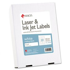 Maco All-Purpose Labels, 5000/Box