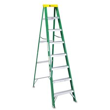 Louisville #592 Eight-Foot Folding Fiberglass Step Ladder