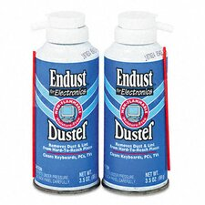 Compressed Gas Duster, 3.5 Oz Cans/Pack
