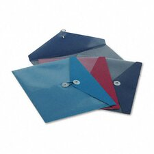 Viewfront Standard Pocket Poly Booklet Envelope, 4/Pack