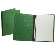 Report Cover, Reinforced Side Hinge, Letter, Dark Green
