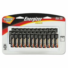Max Alkaline Batteries, Aa, 36 Batteries/Pack