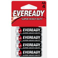 AA Heavy-Duty Battery (4 Pack)