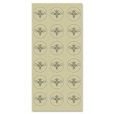 Self-Adhesive Ornamental Seals (Set of 54)