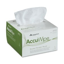 "Accuwipe Eyeglass Wiping Cloth, 4-7/8""x8-1/4"", White"