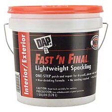 1 Gallon Fast'N Final Spackling Interior & Exterior 12143