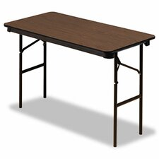 Economy Wood Laminate Folding Table