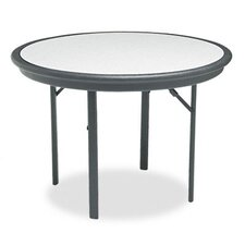 "Indestructable Resin Folding Table, 42"" Dia. X 29H"