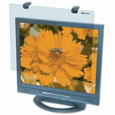 Protective Antiglare LCD Monitor Filter, Fits Notebook/LCD to 19