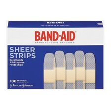 "X 3"" Band-Aid® Brand Sheer Bandage (100 Per Box)"