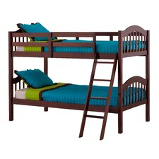 Long Horn Twin over Twin Bunk Bed