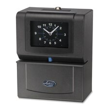 Automatic Time Clock, Day Of Week/Hours/Minutes, Charcoal