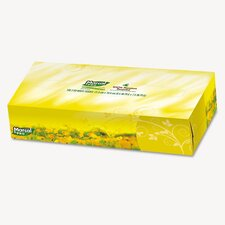 Pro 100% Premium Recycled Facial Tissue, 100/Box, 30 Boxes/Carton