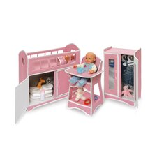 Folding Doll Furniture Set