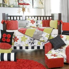 McKenzie 5 Piece Crib Bedding Collection with Pillow