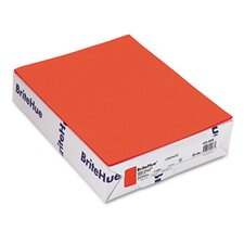 BritehueMultipurpose Colored Paper, 24Lb, 8-1/2 X 11, 500 Sheets/Ream