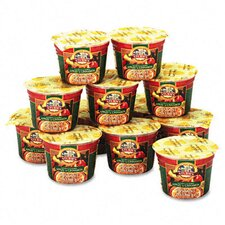 Instant Oatmeal, Apple-Cinnamon, Single-Serve 1.9lb Bowl, 12/box