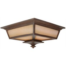 Argent Outdoor Flush Mount