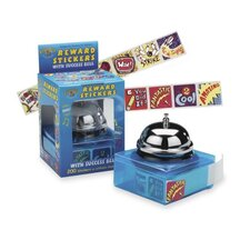 "Rewards Success Bell Sticker Dispenser, 1""x1"", 200 Stickers"