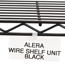 Wire Rack Shelf Tag, 10/Pack