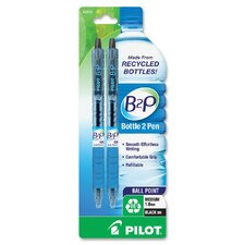 B2P Retractable Ballpoint Pen (Set of 2)