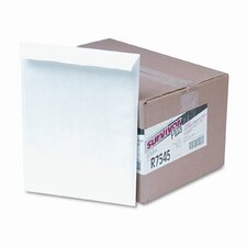 Tyvek Air Bubble Mailer, Self-Seal, Side Seam, 10 x 13, White, 25/box