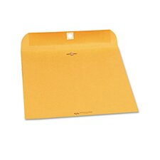 Clasp Envelope, Side Seam, 9 x 12, 28lb, Light Brown, 250/carton