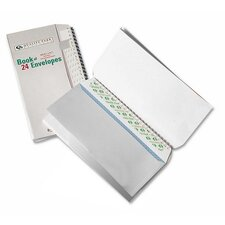 "Envelopes, Book Of Envelopes,No 10(4-1/8""x9-1/2"")36 per Pack, White"