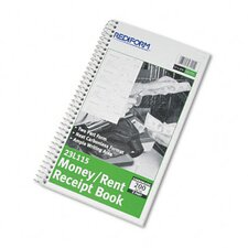 Money and Rent Unnumbered Receipt Book, 200 Sets/Book