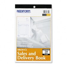 Sales and Delivery Book, 50 Sets/Book