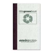 Little Green Memo Book (60 Sheet)