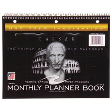 13 Sheet Monthly Planner Book