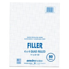 80 Sheet Sugarcane Filler Paper