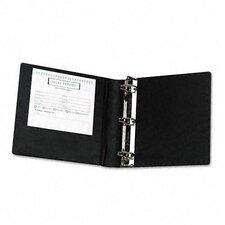 Heavy-Duty Locking Round Ring Binder, 8-1/2 x 11, 2in Capacity