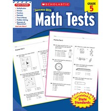 Scholastic Success Math Tests Gr 5