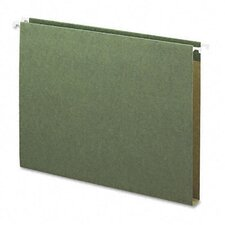 "1"" Capacity Box Bottom Hanging File Folders, 25/Box"