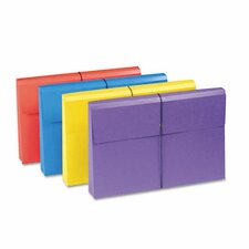 "2"" Accordion Expansion Antimicrobial File Wallet, 4/Pack"