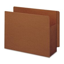 "Tuff Pocket 5"" Accordion Expansion File Pockets, 10/Box"