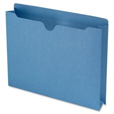 "File Jackets with 2-Ply Tab and 2"" Accordion Expansion, 50/Box"