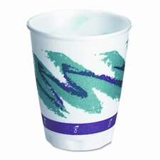 Company Symphony Design Trophy Foam Hot/Cold Drink Cups, 1000/Carton